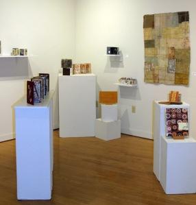 Bind Stitch Fold Bibliophoria Exhibit in Gallery III